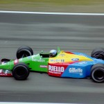 The bright sponsorship of Benetton