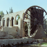 One of the many norias or Hama