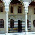 Colourful architecture of Azem Palace