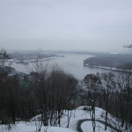 The mighty Dnieper river