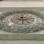 The eternal flame for the fallen