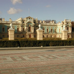 A former palatial residence