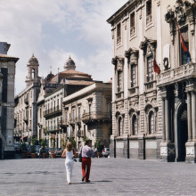 Piazza Duomo - the heart of life in Catania