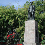 Statue of Ataturk, founder of the Republic of Turkey