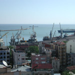 The Black Sea port of Trabzon