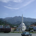 Mosque on the way to Batumi