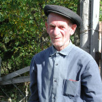Very friendly farmer and purveyor of apples in Borjomi, Georgia