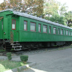 Stalin's personal train carriage, as used during negotiations during WWII