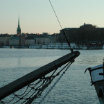 Relaxing Stockholm harbour