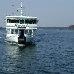 The comfy ferry that got me to the island
