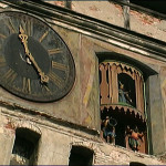 Detail of the clock tower