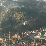 Brasov from the nearby hills