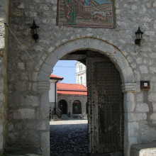A doorway with history