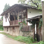 Typical village house in Cherni Osem