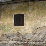 Lathe and plaster - architectural heritage