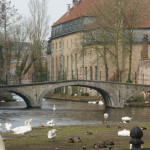 Bridge to the Beguinage from Minnewater