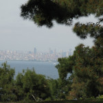 Looking across to Asian side of Istanbul
