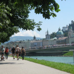 "The Salzach River and Salzburg or ""Salt Castle"" gets its name from the barges carrying salt on the river."