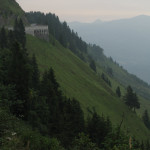 Deutsche Alpenstrasse - panoramic scenic toll road affords a stunning view