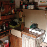 The kitchen, cheap and not so cheerful hotel @ Cherni Osem, Bulgaria