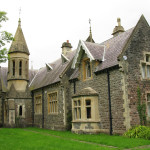 Old Victorian school, now a Guides Activity Centre @ Gower Peninsula, Swansea, Wales UK