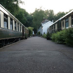 Pullman carriages @ The Old Railway Station, Petworth, West Sussex, UK