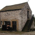 The bare minimum / a waterproof barn / youth hostel @ Youlgreave, Derbyshire, UK