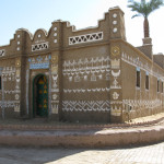 Typical Nubian house