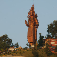Tallest Shiva in Nepal