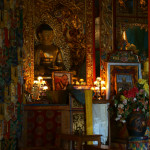 Alter inside a Gompa