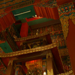Sacred books rescued from Tibet and stored in the roof