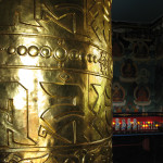 Larger than life prayer wheels