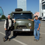 4000km later Tudevve and I, back in Ulaan Baatar, Mongolia