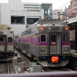 Double height commuter rail