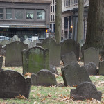 Granary burying ground in the middle of the city