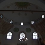 Inside the main Gazi Husrev Begova Mosque