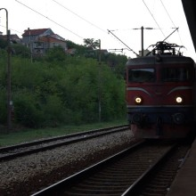 The 07:09 to Sarajevo will shortly depart from platform 2
