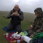 What ever the temperature, we are having a picnic