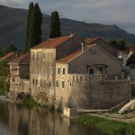 Sunset reflected in Trebinje